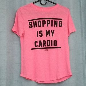 Victoria's Secret PINK Shopping is my Cardio shirt